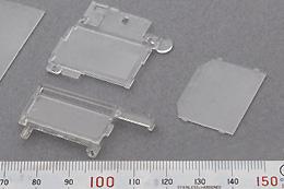 製品:導光板(携帯用)素材:PCまたはアクリル