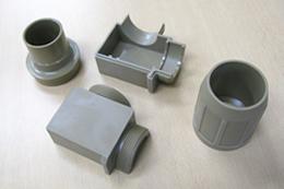 製品:切削→成形 工法転換サンプル 素材:PEEK